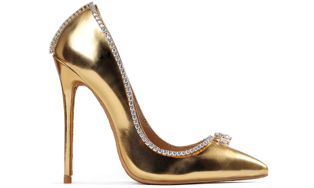 Passion Diamond Shoe : chaussure la plus chere